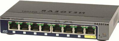 prosafe 8 port gigabit smart managed switch