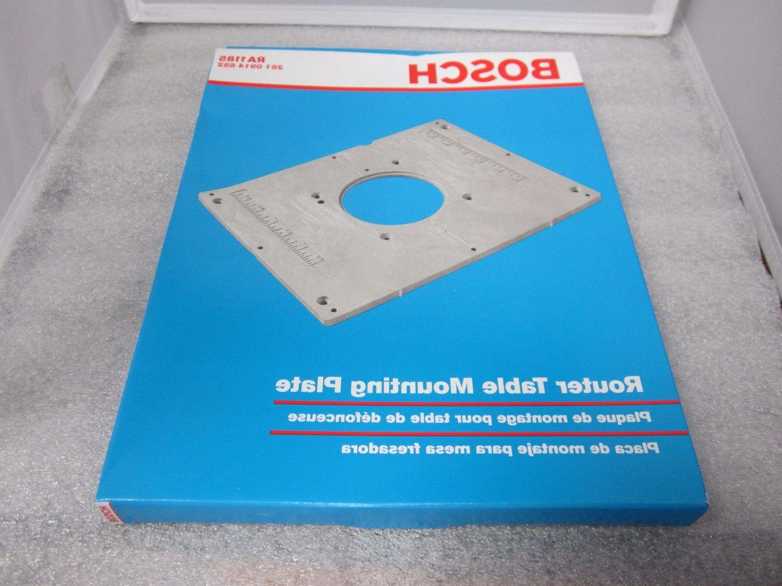 Bosch RA1185 Router Table Mounting Plate