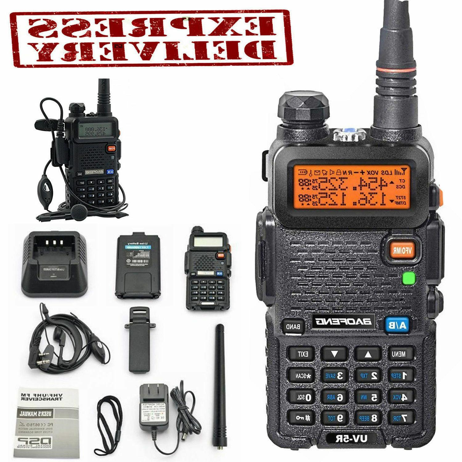 Police Fire Radio Two Way Scanner Transc