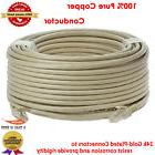 100ft RJ45 Cat5e CAT5 Ethernet LAN Network Cable For PC PS X