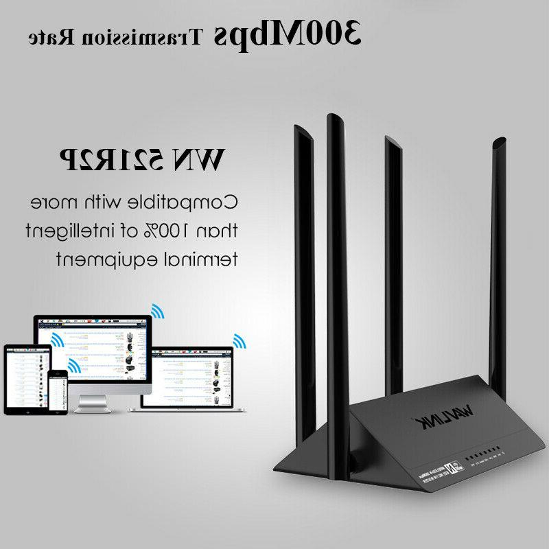 Wavlink WiFi Amplifier 4x5dBi Smart Control