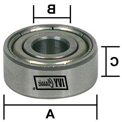 """Ivy Classic Router Collet Adaptor 1/4 - 1/2"""", For All IC 1/4"""
