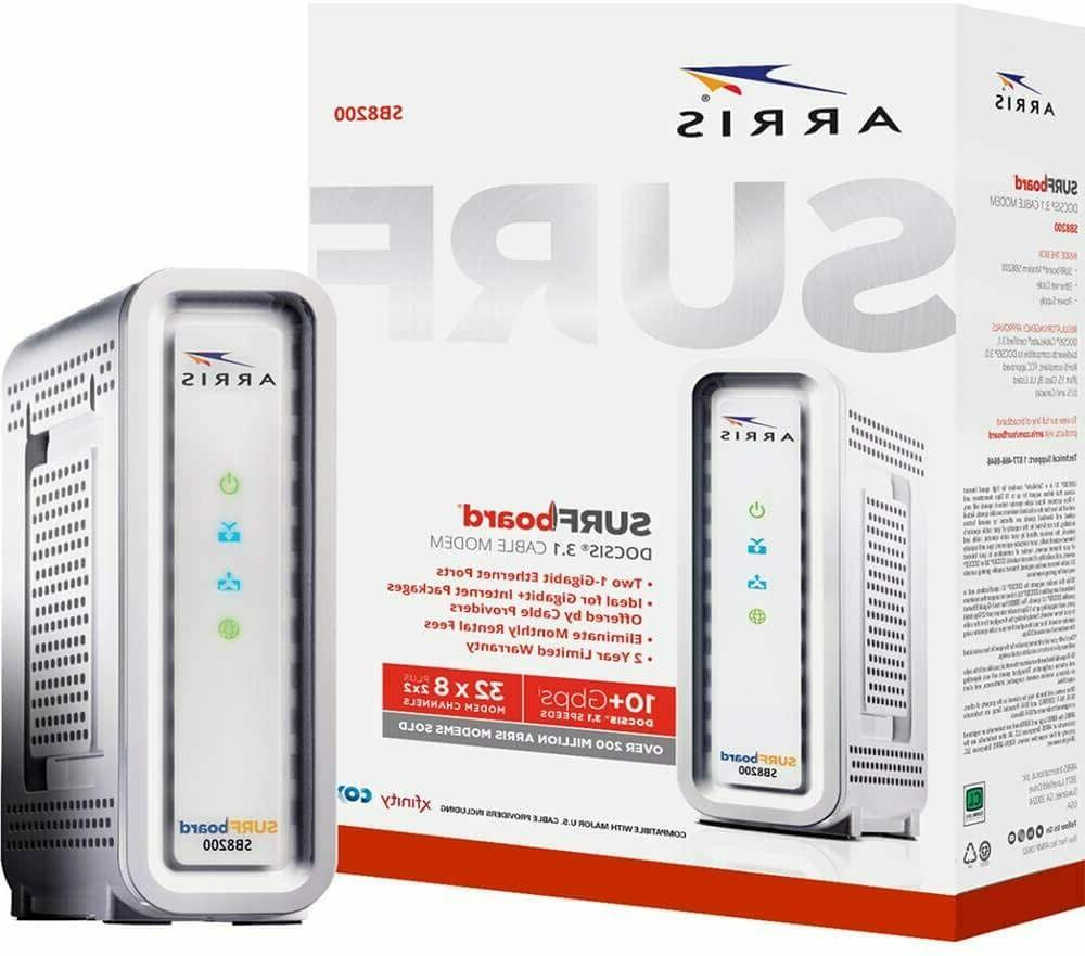Arris SB8200 SURFboard Cable Modem