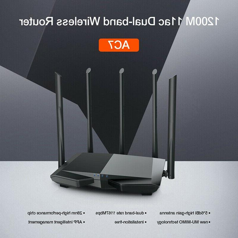 Tenda AC10 1200Mbps Band WiFi Router Wireless