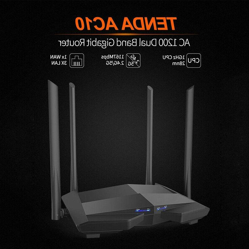 Tenda 1200Mbps Router Wireless Repeater