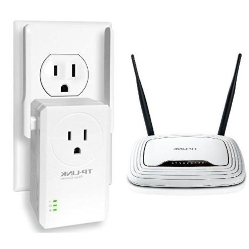Tp Link Tl Wr841n Wireless N300 Home Router