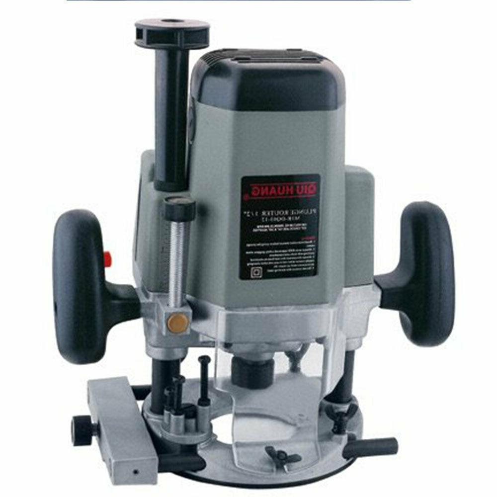 toolman 1800w plunge router 22000rpm 15amps db01