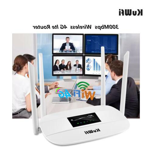 Unlocked Router Router with sim card slot&RJ45 Port