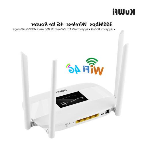Unlocked LTE Router Wifi Router Port