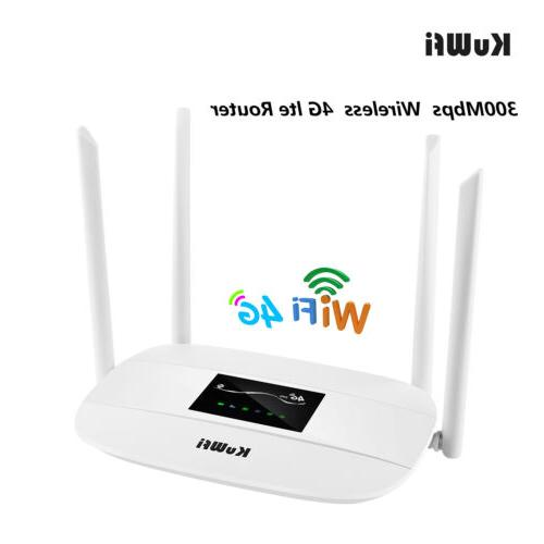 unlocked 4g lte wireless router 300mbps wifi