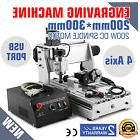 USB CNC ROUTER ENGRAVER ENGRAVING CUTTER 4 AXIS 3020T WOODWO