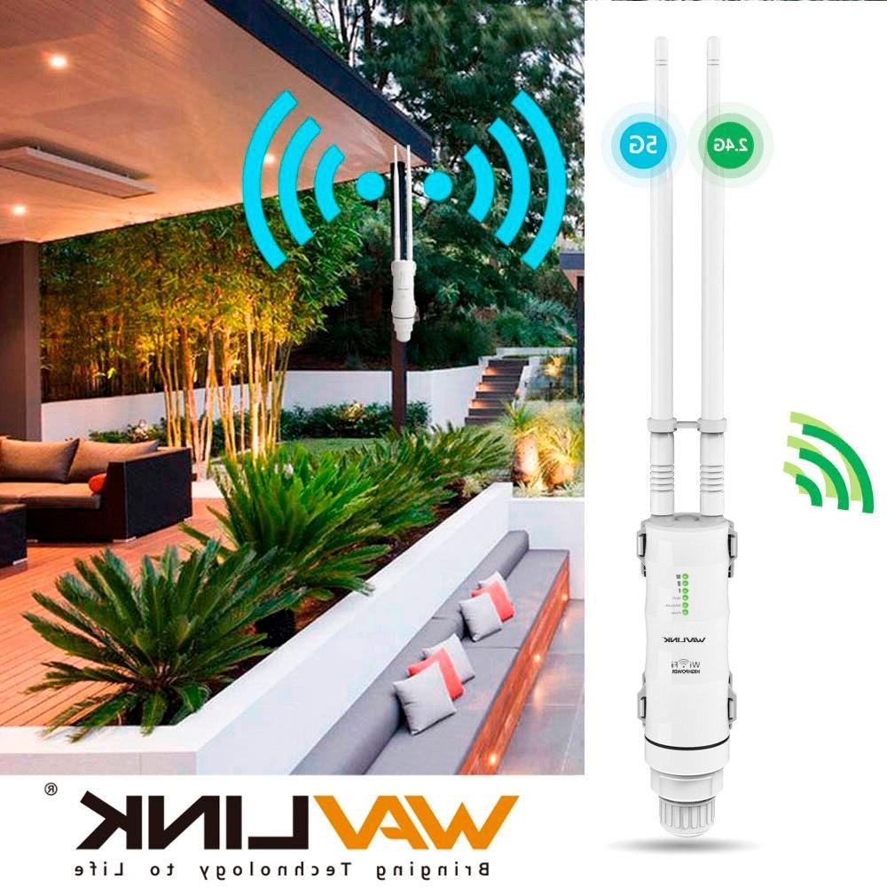 Wavlink Wifi Repeater +5GHz /433Mbps Wifi <font><b>Router</b></font> with