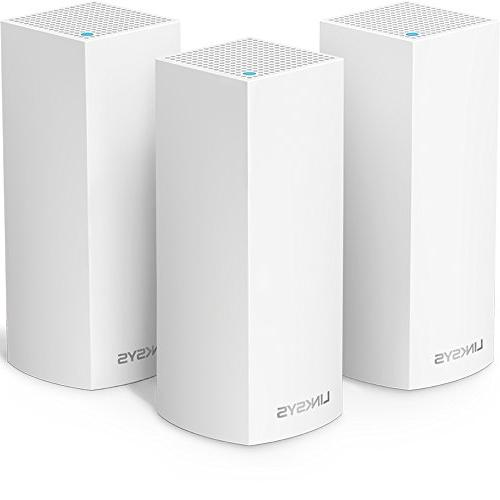 Linksys WHW0303 Velop Whole Home Mesh Wi-Fi System 3 Pack