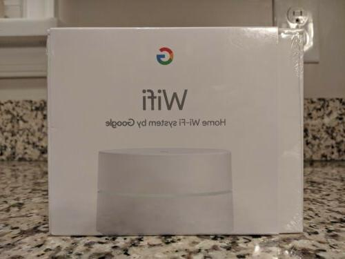 Google Wifi AC1200 Router Dual-Band Mesh Wi-Fi  Brand New in