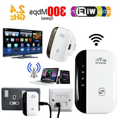 300Mbps Wifi Repeater Wireless-N 802.11 Router Extender Sign