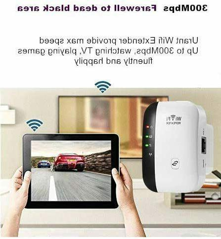 WiFi Range Extender Booster Network Signal Repeater