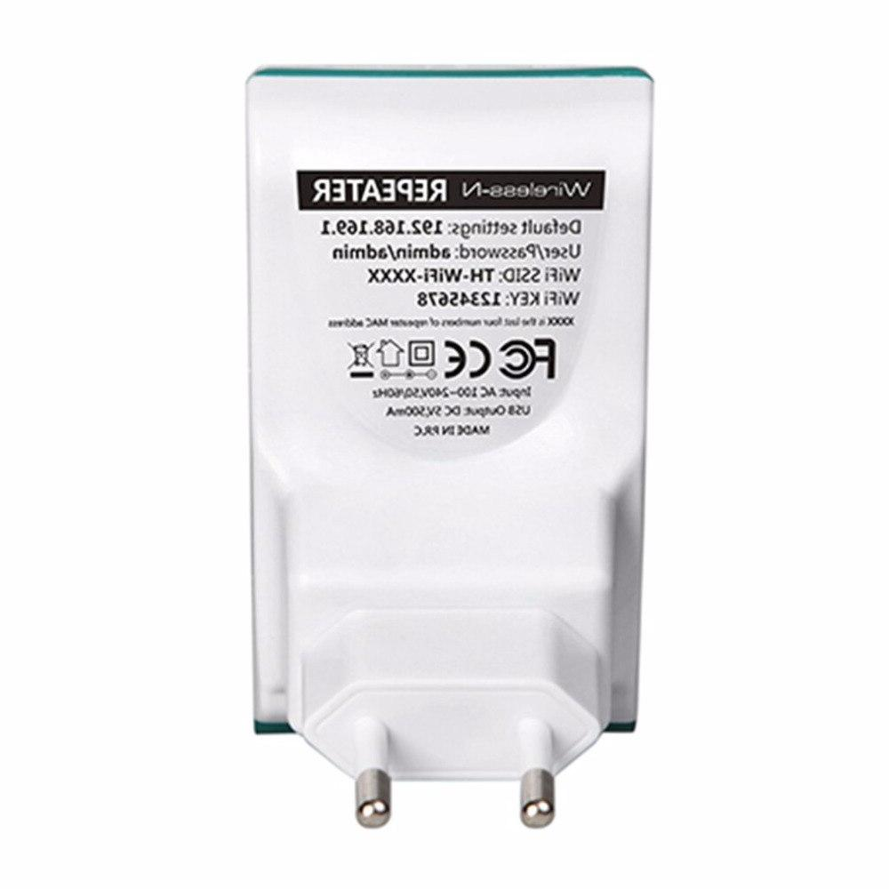 WiFi Repeater 300Mbps 2 <font><b>Router</b></font> Signal Booster Pocket