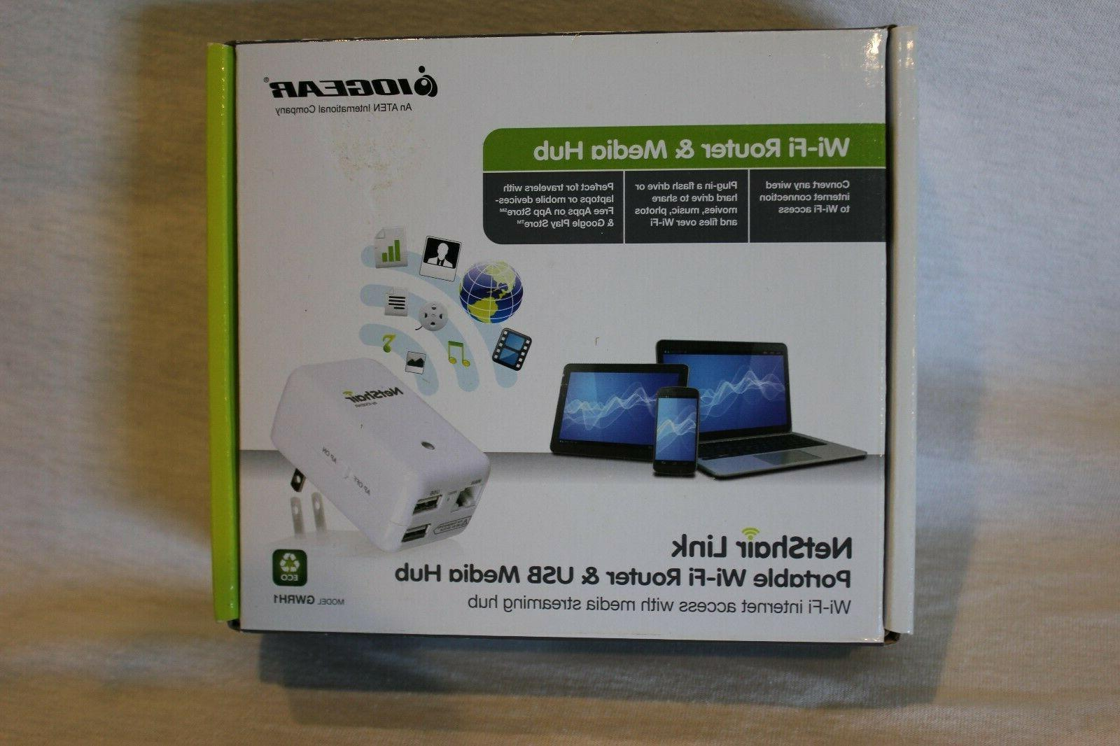 wifi router and media hub model gwrh1