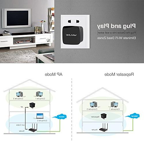 WiFi Signal Booster N300 Extender,Universal Wireless Access Point Antennas