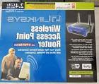 LINKSYS Wireless Access Point Router 2.4 GHz 802.11B NIB Sea