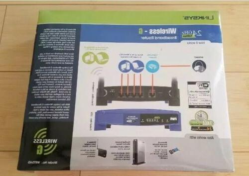Linksys All-In-One Networking Solution WRT54G