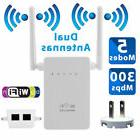 300Mbps Extender WiFi Wireless-N Range Repeater Signal Boost