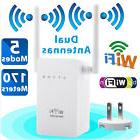300Mbps Wireless-N WiFi Range Extender Repeater Signal Boost