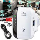 300Mbps Wifi Repeater N Wireless AP Range Router Extender Si