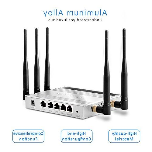 AFOUNDRY WiFi Booster High WIFI 300Mbps, Built in Antenna in Hotels, Villas, Markets