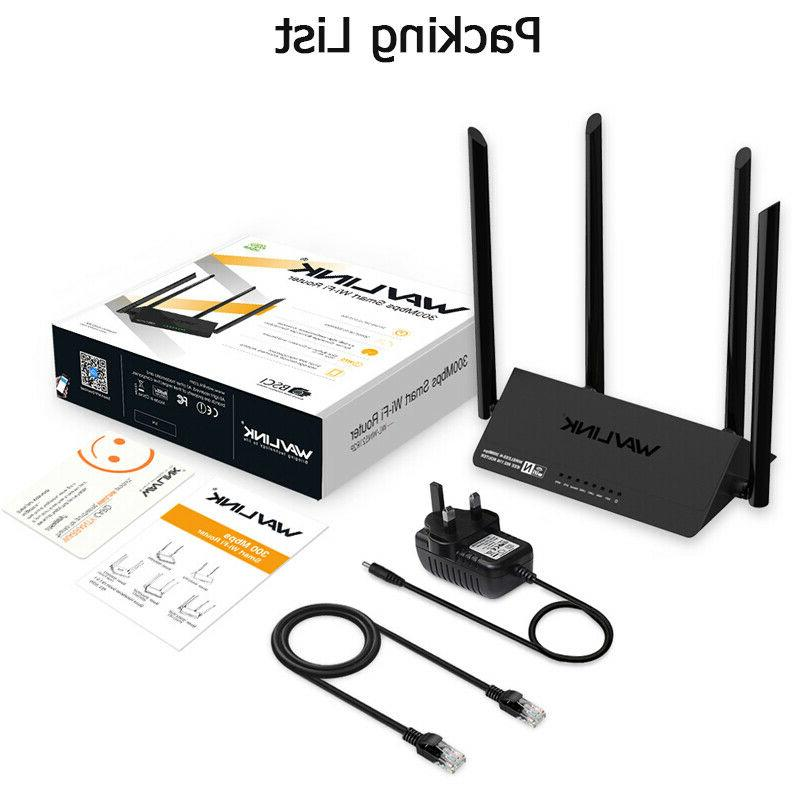 Wavlink Wireless Signal WiFi Amplifier 4x5dBi Smart APP