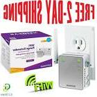 New Wireless WiFi Range Extender Internet Router Increase Si