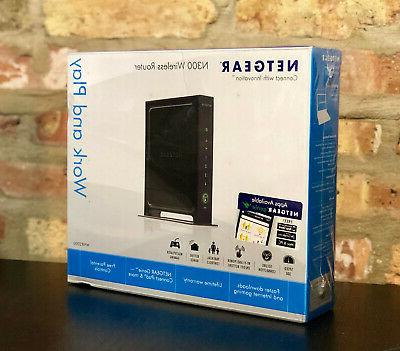 wnr2000 n300 wireless router wnr2000v3 new
