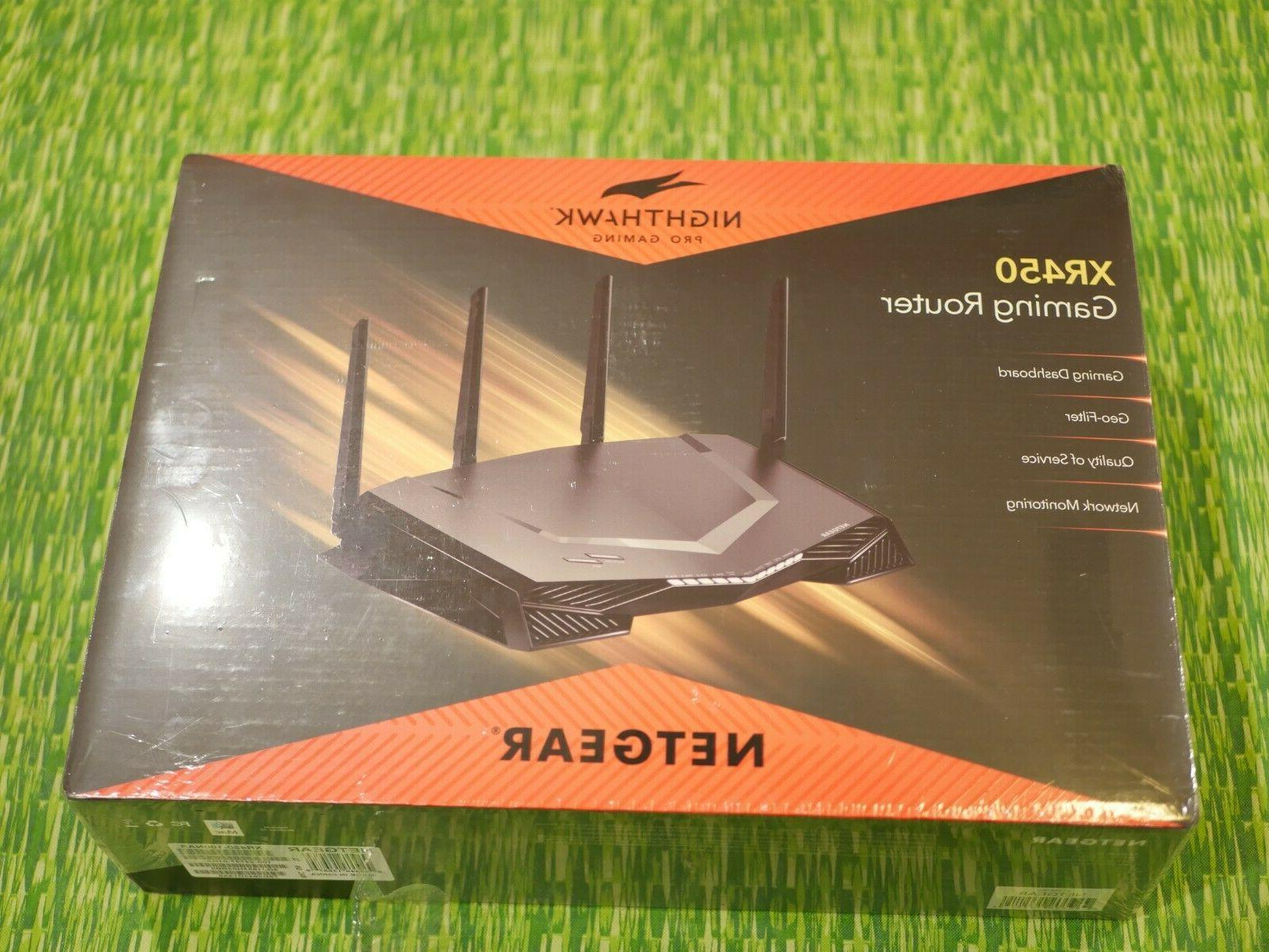xr450 100na nighthawk pro gaming router sealed