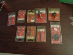 Lot of 9 Milwaukee different size router bits  Made in Italy
