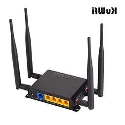 KuWFi 300Mbps 3G 4G Car WiFi Wireless Router Extender Strong