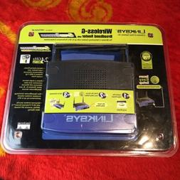 Lynksys Wireless-G Broadband Router 2.4 GHz With Speed Boost