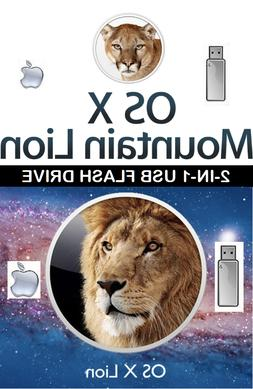 Apple Mac OS X Lion USB Bootable Drive & Recovery Creation