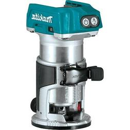 Makita XTR01Z 18V LXT Brushless Cordless Compact Router, Bar