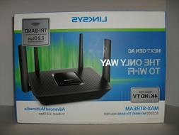 Linksys Max Stream Ac2200 Mu-mimo Tri Band Router Ideal For