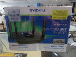 Linksys MAX-STREAM AC2200 Mu-Mimo Tri-Band Router EA8300 NEW