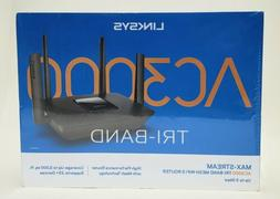 🔥Linksys MAX-STREAM Tri-Band Mesh WIFI Router AC3000 NEW