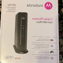 Motorola MB7420 16x4 686 Mbps DOCSIS 3.0 Cable Modem New In