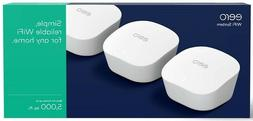 eero mesh Wi-Fi Router/Extender - Pack of 3 - Brand New in S