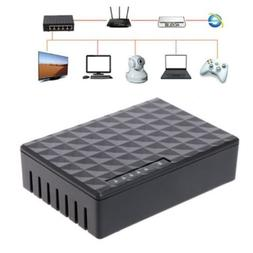 Mini 5Port Desktop Gigabit Switch Fast Ethernet Network LAN