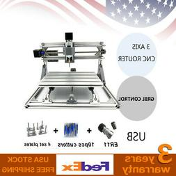 Mini 2417 CNC Router Milling Engraving Machine 12V For Wood