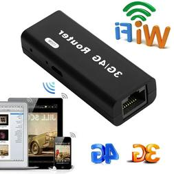 Mini Portable 3G/4G Wireless USB WiFi Hotspot Router AP 150M