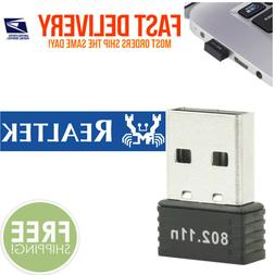 RealTEK Mini USB 150Mbps Wireless 802.11B/G/N LAN Card WiFi