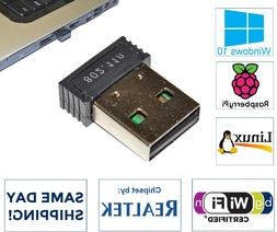 Realtek 300Mbps Mini USB Wireless 802.11B/G/N LAN Card WiFi