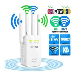 Multi-modes WIFI Repeater 2.4GHz/5GHz 1200mbps Router& Wirel