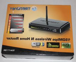 Trendnet N150 Wireless N Router TEW-711BR 150 Mbps 4-Port 10